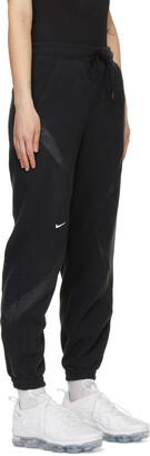Nike Black NSW Archive Remix Lounge Pants