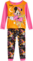 Minnie Mouse 2-Pc. Witchie Cotton Pajama Set, Toddler Girls (2T-5T)