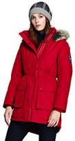 Lands' End Women's Petite Expedition Down Parka-Bright Cardinal