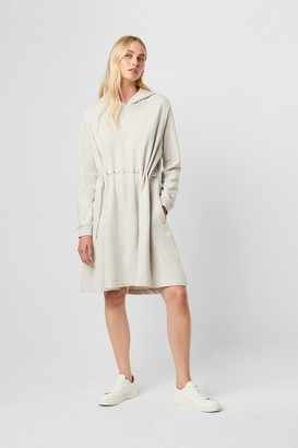 French Connection Santino Drawstring Hooded Dress