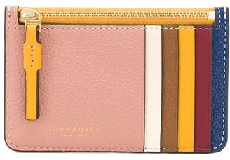 Tory Burch Perry colour-block card case