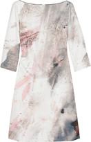 Paint effect dress