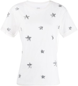 P.A.R.O.S.H. sequin-embroidered T-shirt