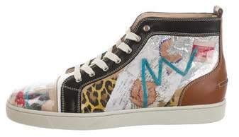 Christian Louboutin Louis Trash Flat Sneakers