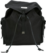 DSQUARED2 military backpack - men - Cotton/Calf Leather/Polyamide - One Size