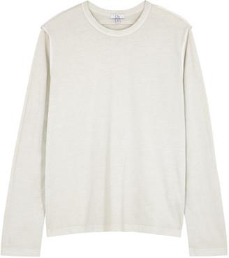 Clu Pale Grey Cotton Top