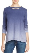 Wilt Ombré Raw Hem Top