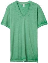 Alternative Boss V-Neck Eco-Jersey Burnout T-Shirt