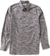 William Rast Baker Camo Print Shirt
