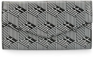 Off-White Geometric Logo Flap Wallet