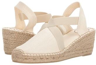 Toni Pons Ter (Ecru Linen) Women's Shoes