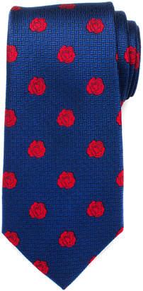 Cufflinks Inc. Cufflinks, Inc Men's Neckties - Beauty and the Beast Navy & Red Silk Neck Tie