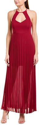 BCBGeneration Pleated Maxi Dress