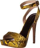Nicole Miller Women's Clark Platform Sandal,8 M US