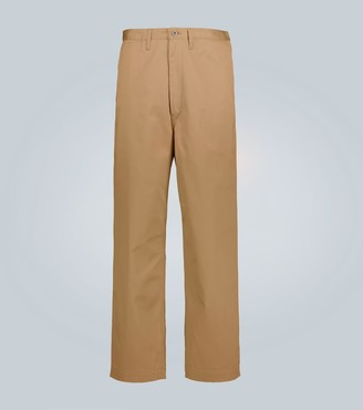 Junya Watanabe Wide-leg cotton cargo pants
