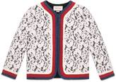 Gucci Jersey and lace jacket