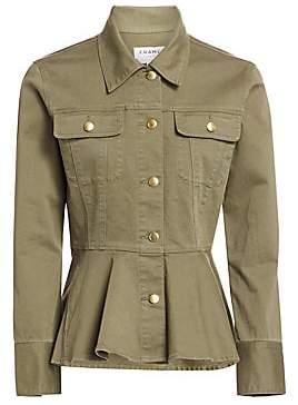 Frame Women's Flounce Peplum Jacket