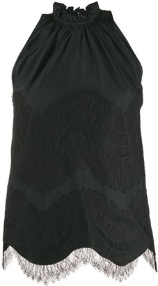 Givenchy Lace-Overlay Tank Top