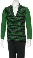 3.1 Phillip Lim Embroidered Wool-Blend Sport Coat