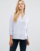 Maison Scotch Embroidered Lightweight Shirt