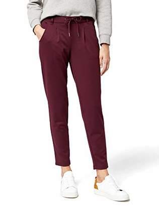 Tom Tailor Women's Sweathose Mit Tunnelzug Trouser, (Wine Red 4545), (Size: Medium)