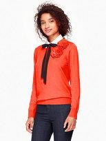 Kate Spade Rosette sweater