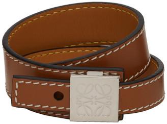 Loewe Tan Thin Bracelet