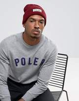 Poler Workerman Beanie in Berry