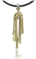Orlando Orlandini Flirt - 18K Gold Drop Pendant w/ Diamond