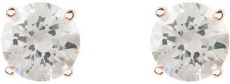 Latelita Solitaire Cz Earring Rosegold