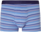 Derek Rose - Striped Stretch-cotton Boxer Briefs