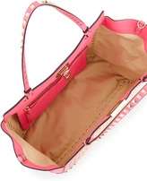 Valentino Rockstud All Over Tote Bag, Pink