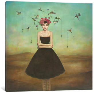 """iCanvas Fair Trade Frame of Mind Gallery"""" by Duy Huynh, 12x12x1.5"""""""