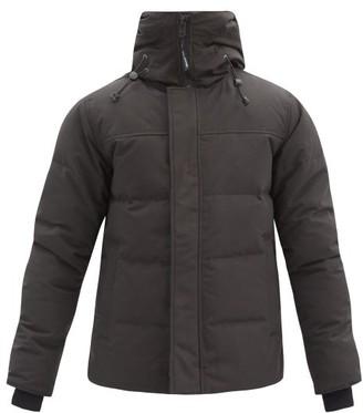 Canada Goose Macmillan Hooded Down Parka - Black