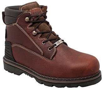 """AdTec Men's 6"""" Steel Toe Work Boots"""
