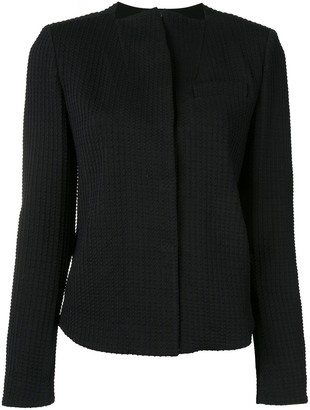 Giorgio Armani Concealed Front Jacket