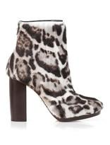 Christopher Kane Jaguar goat-skin ankle boots
