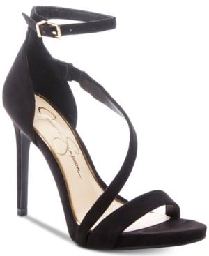 Jessica Simpson Rayli Asymetric Dress Sandals Women's Shoes