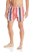 HUGO BOSS BOSS Men's Salmon Stripe Swim Trunk