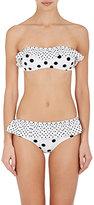 Dolce & Gabbana Women's Polka-Dot-Pattern Bandeau Bikini Set