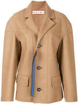 Marni single breasted coat