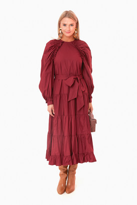 Ulla Johnson Claret Samar Dress