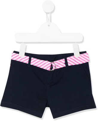 Ralph Lauren Kids Striped Belt Shorts