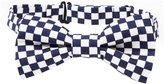 Peppercorn Kids Checkerboard Bowtie - Navy-One Size