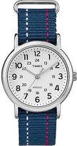 Timex Weekender | Blue Striped Strap | Casual Watch TW2R10700