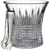 Waterford 'Lismore Diamond' Lead Crystal Ice Bucket & Tongs