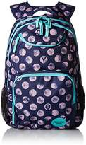 Roxy Women's Shadow Swell Backpack, Patriot Blue Dots