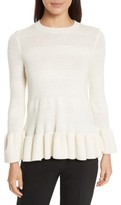 Kate Spade Women's Bell Cuff Textured Sweater