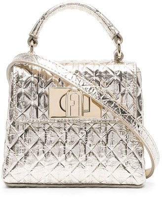 Furla Quilted Leather Mini Bag