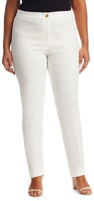 Marina Rinaldi, Plus Size Record Cotton Pants